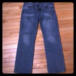 Mens Levi's 514 Jeans Size 34x32